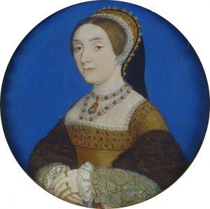 Hans Holbein il Giovane - Ritratto di Signora, forse Katherine Howard