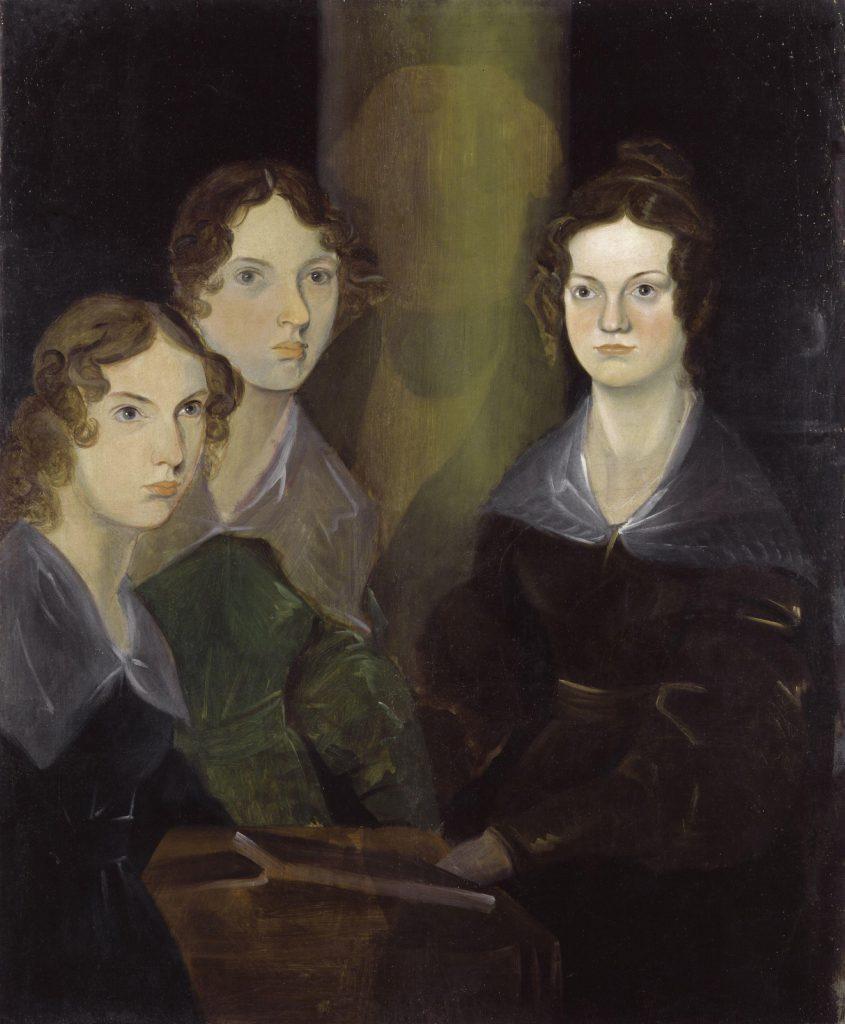 Le sorelle Brontë ritratte da Patrick Branwell