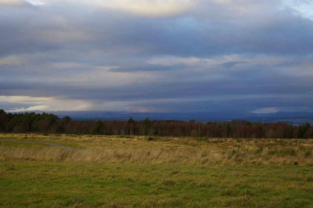 Il campo di battaglia di Culloden. Fonte della foto: wikimedia commons.