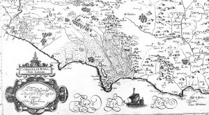 Mappa della campagna di Roma