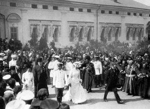 Foto: uscita della coppia reale nel 1903 (foto di copertina)