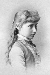 La principessa Alix nel 1881