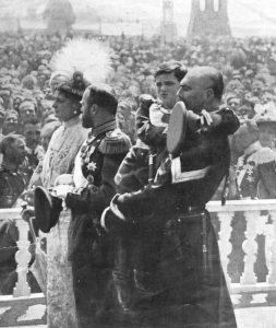Foto: i Romanov alle celebrazioni del trecentenario